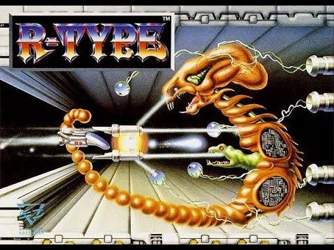 Amigos Plays R-Type on an Amiga 1200