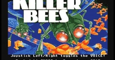 Amigos Plays Killer Bees! by G. James (2017) (Amiga). Original Odyssey 2 version by R. Harris