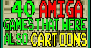 40 AMIGA games that were also CARTOONS