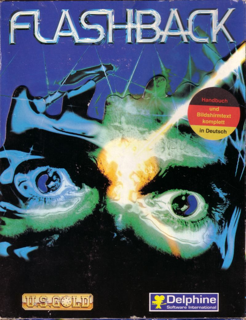 Flashback's 80s styled cover