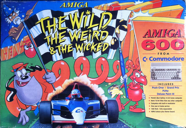 The art for The Wild, The Weird and the Wicked