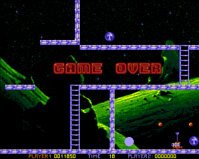 Amiga Ooops Up Level 100 Game Over