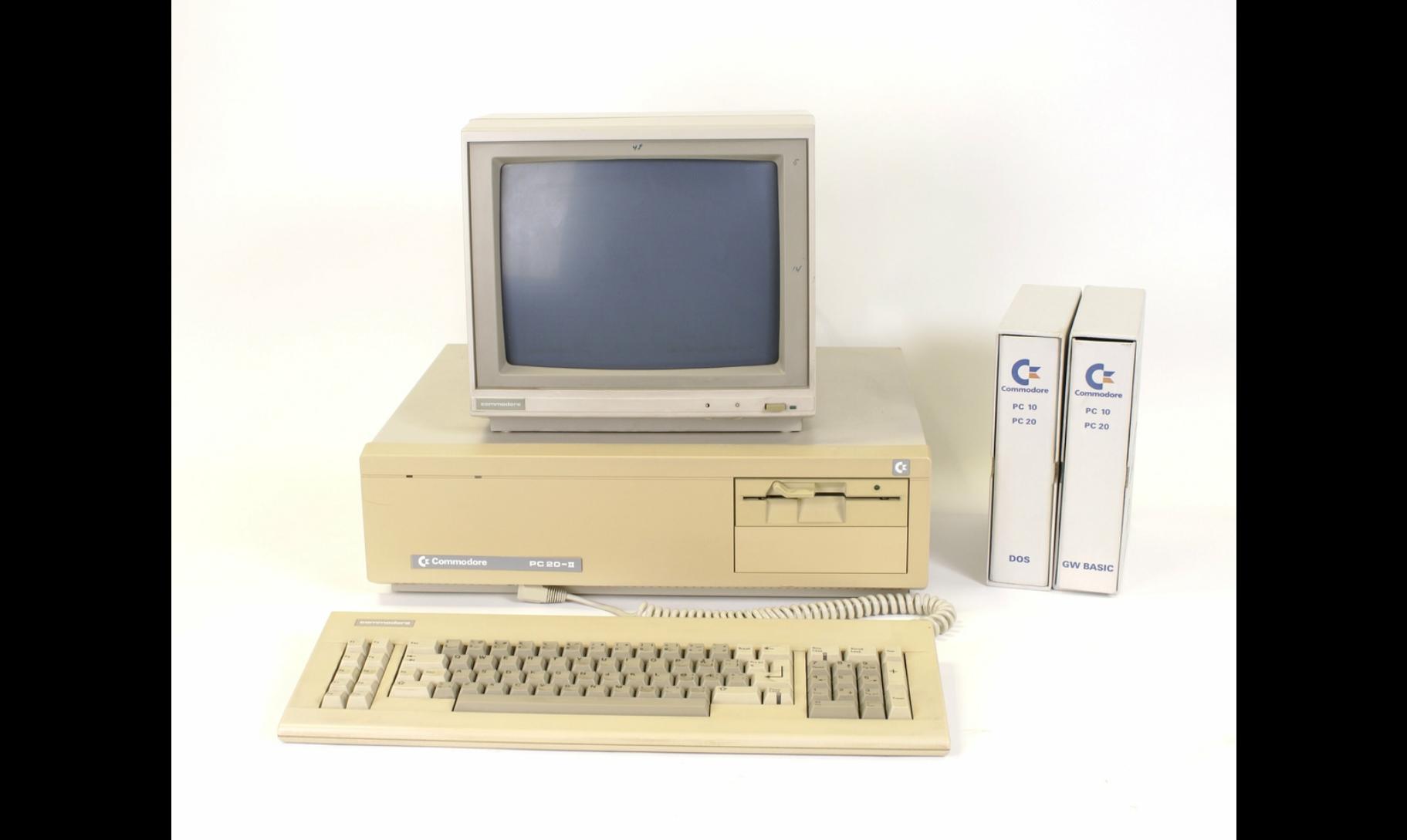 Commodore PC-20 II