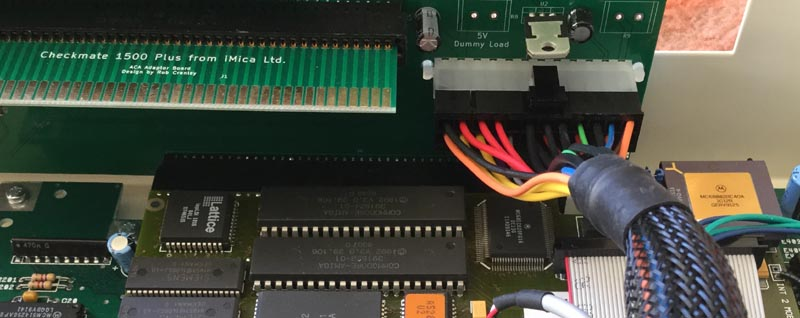 ATX Power Connector in Checkmate A1500