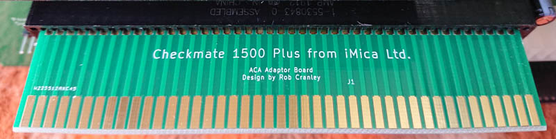 Checkmate A1500 Plus ACA Adaptor