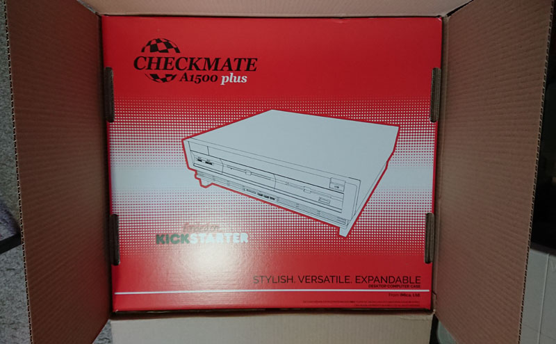 Checkmate A1500 Plus Opened Shipping Box