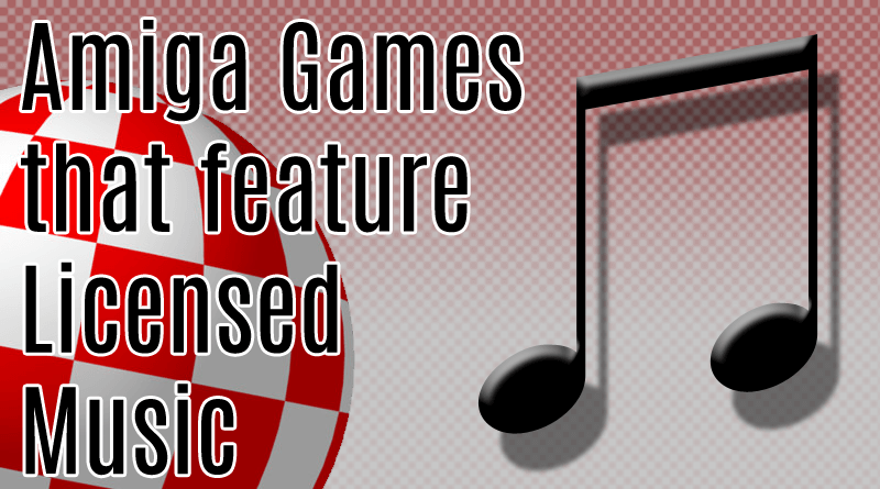 Licensed Amiga Music