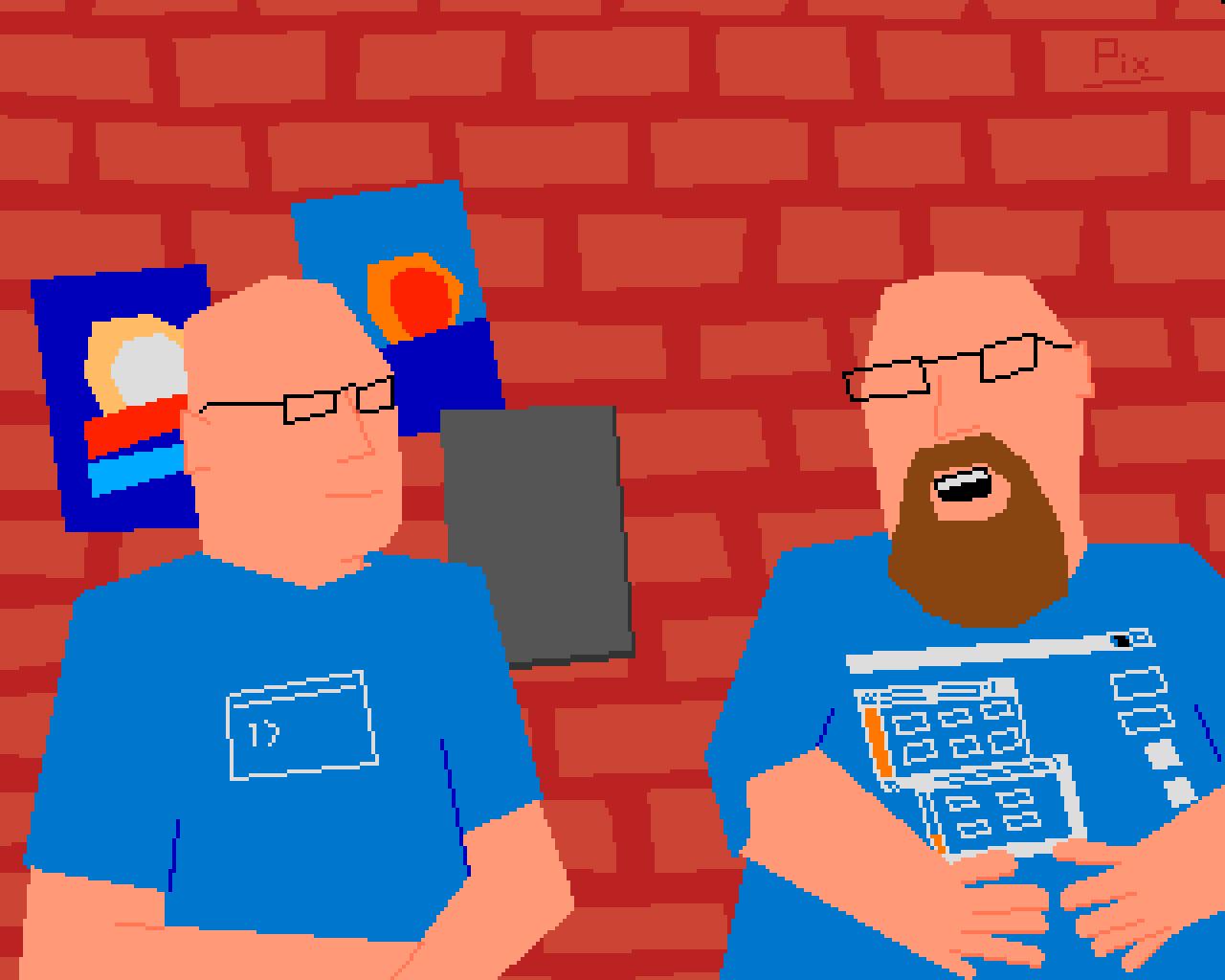 Men of Quality - Pixels at Dawn