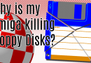 Why is my Amiga Killing Floppy Disks